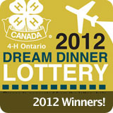 Dream Dinner Lottery Winning Announcement