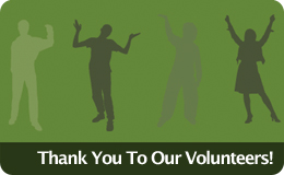 Volunteers graphic
