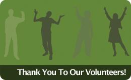 Volunteers graphic
