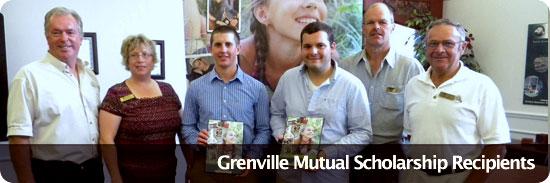 Grenville Mutual Scholarship Recipients