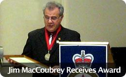Jim MacCoubrey Receives Award