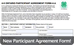 Participant Agreement Form