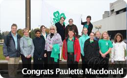 Congrats to Paulette Macdonald