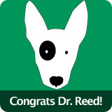 Congratulations Dr. Reed