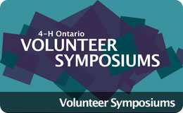 Volunteer Symposiums