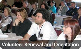 Volunteer Orientation and Renewal