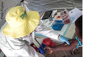 HIV testing in Zimbabwe