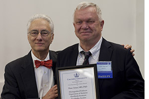 Dr. Rudolph L. Leibel and Dr. Peter Arner