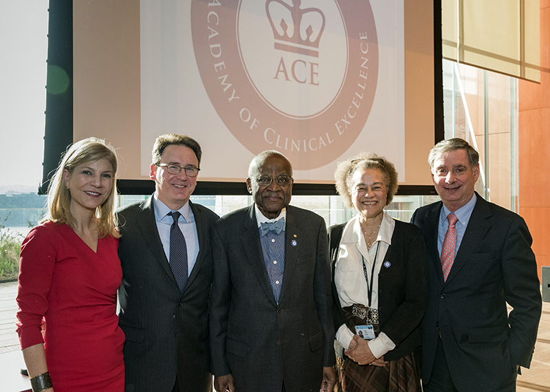 ACE ceremony speakers (Charles Manley)
