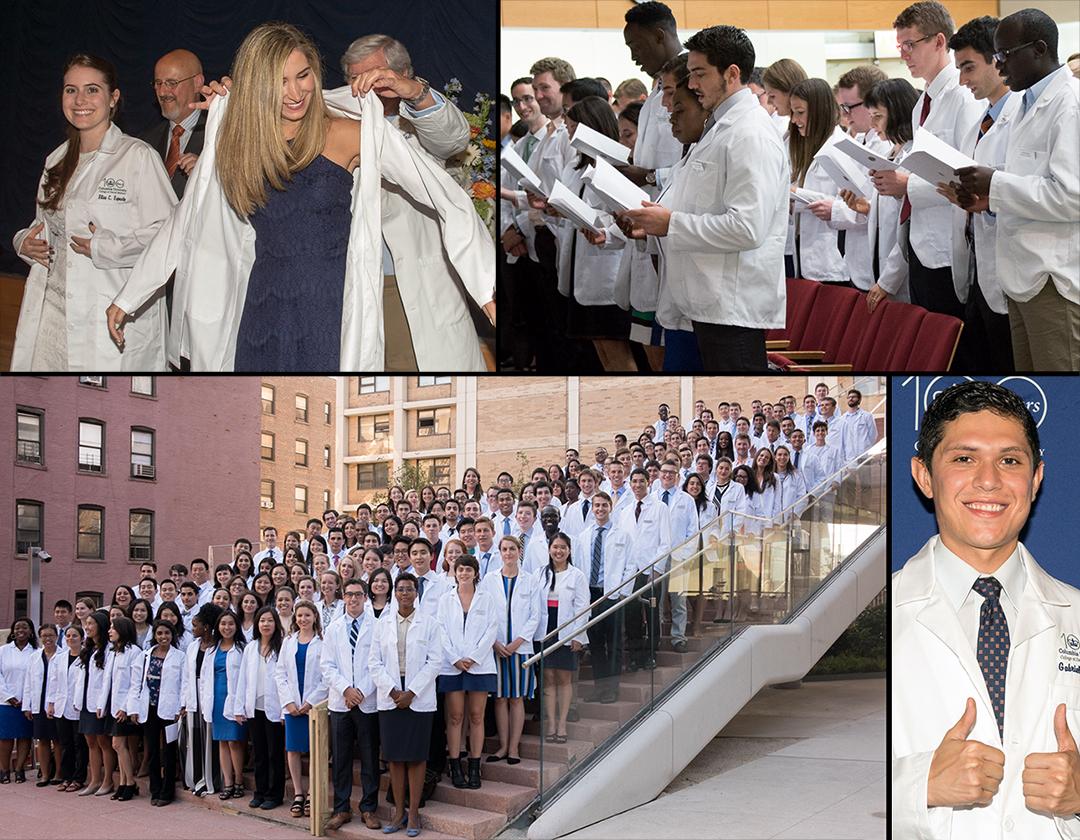 Dental and P&S white coat ceremonies