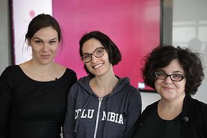 Citizen Endo teamt: Sylvia English, Mollie McKillop, Noemie Elhadad