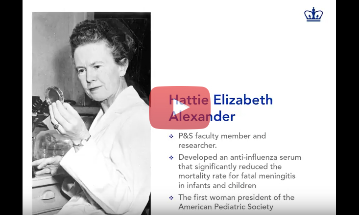 P&S Women in History