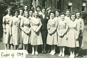 Early graduates of Columbia's Programs in Occupational Therapy