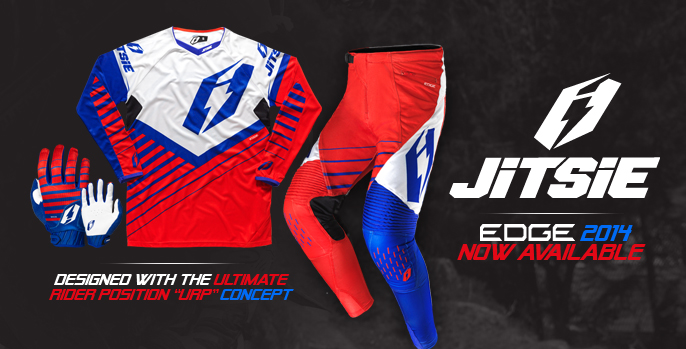 Jitsie T2 2014 Edge red/blue