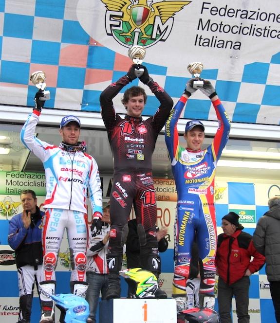 Podium Italian championship