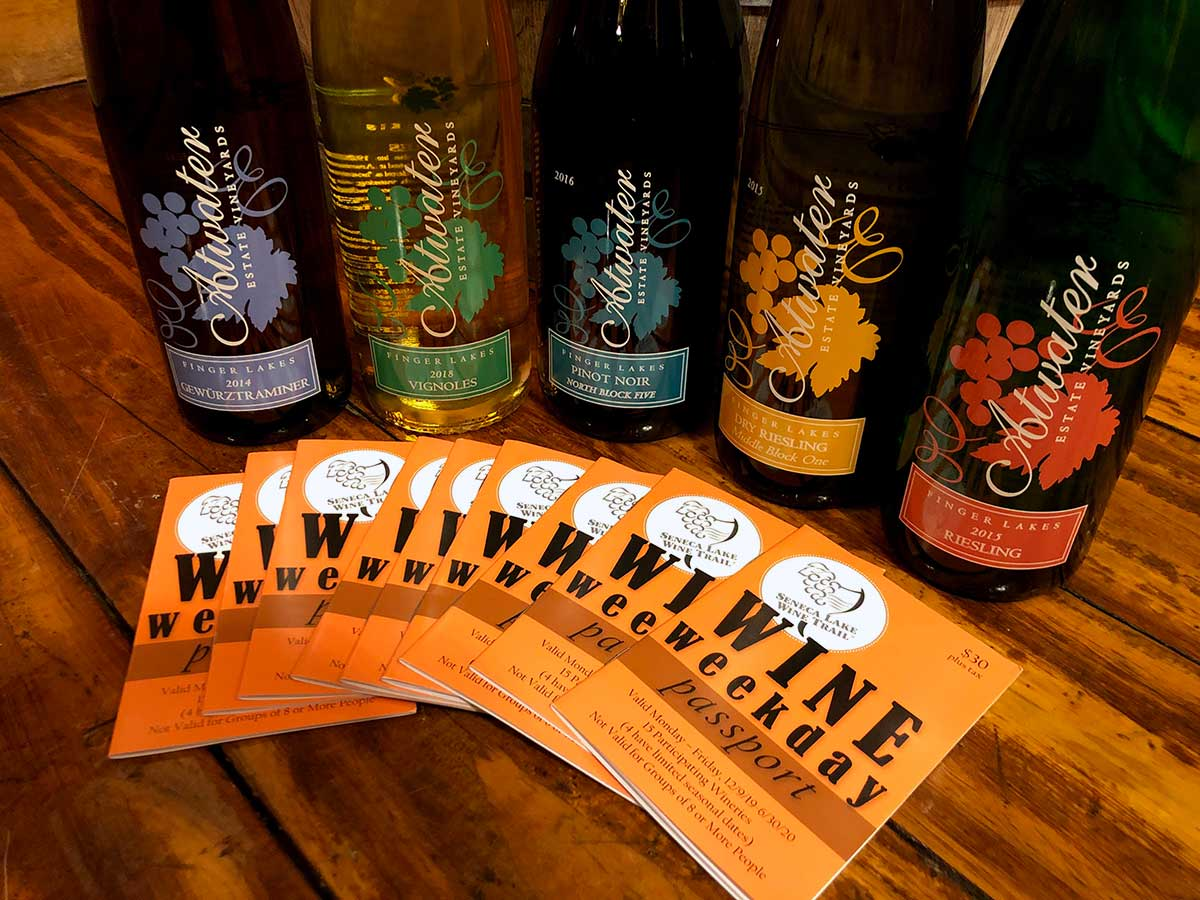 Photo of Atwater wines and the Global Eats Passport