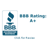 A+ Rating with BBB.org