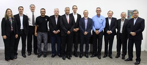 Gestores do setor metroferroviário reunidos na primeira reunião do Comitê de Benchmark da ANPTrilhos