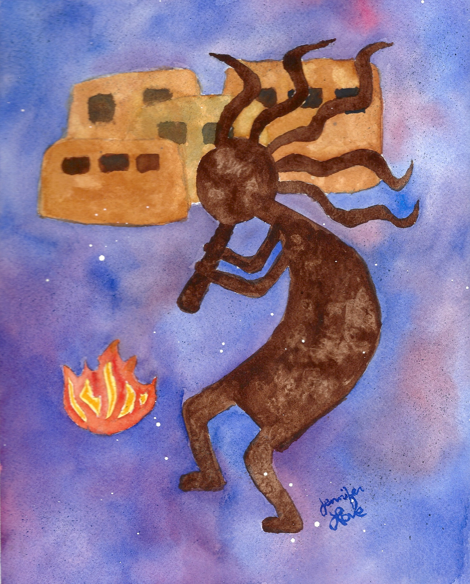 Kokopelli Fire
