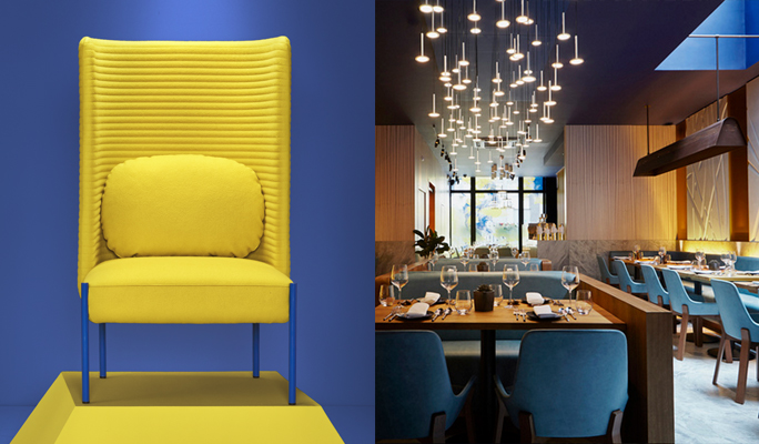 Cool Lights and Cosetting Armchairs