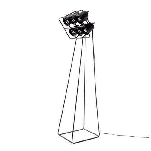 Multilamp Floor Metal Lamp