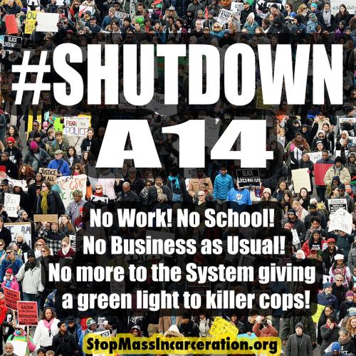 $ShutDownA14 http://www.stopmassincarceration.net/