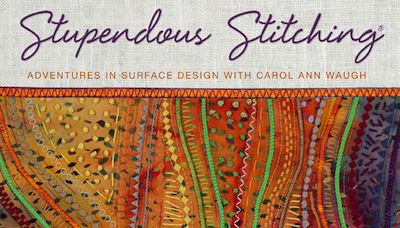 www.craftsy.com offers Stupendous Stitching class taught by Carol Ann Waugh using Creative Feet www.creativefeet.com Pearls N Piping Foot