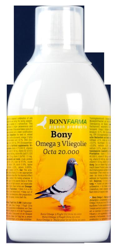 Bony Omega 3 Vliegolie