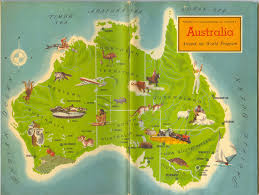 Map of Australia - Kathbern Management Toronto Recruiting Agency