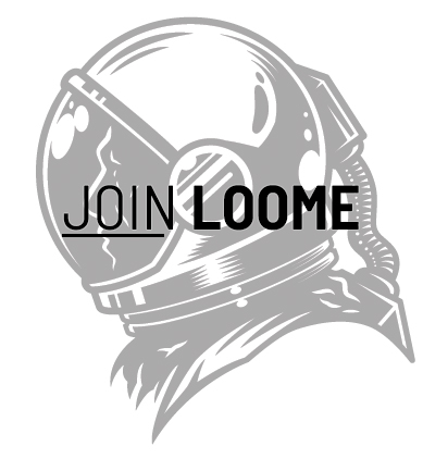 FREE Join Loome Stickers...