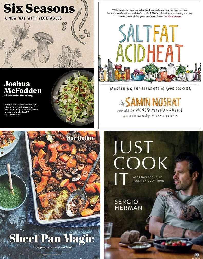 Best selling cookbooks 2017