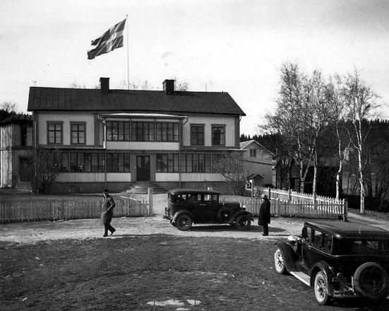 Foto av Kiörningsgården, från Murbergets samlingar