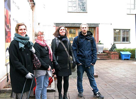4 deltagare i Örebro.Foto