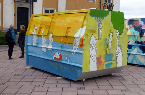 Foto från Container 2.0 Foto: Mats DeVahl