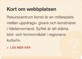 Kort om webbplatsen