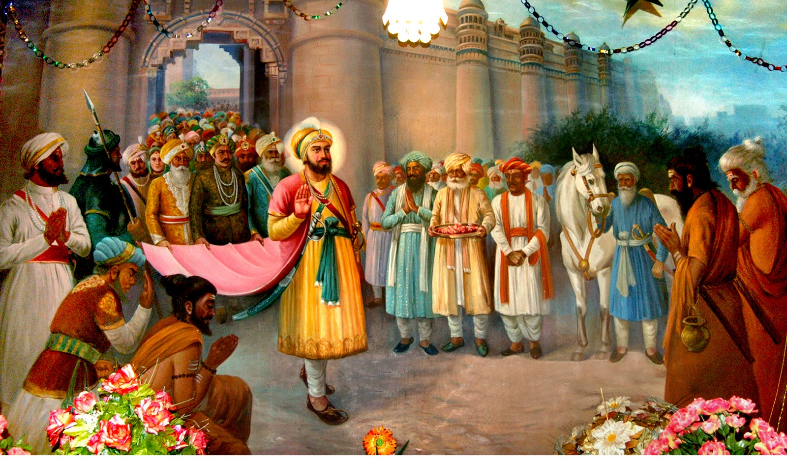 Guru Hargobind frees 52 Kings