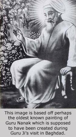 Guru Nanak historic image