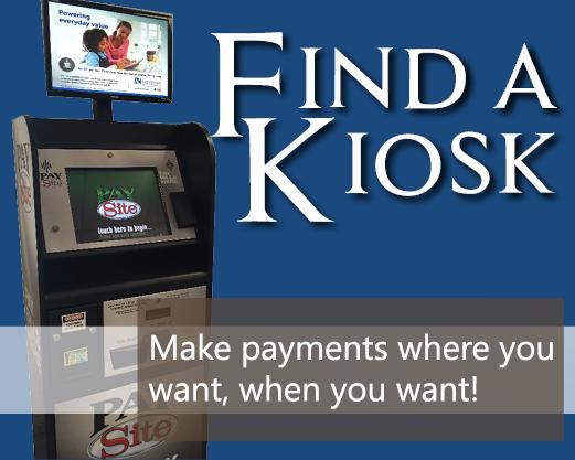 Find a kiosk button