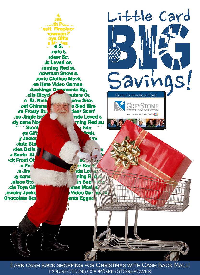Shopping Santa