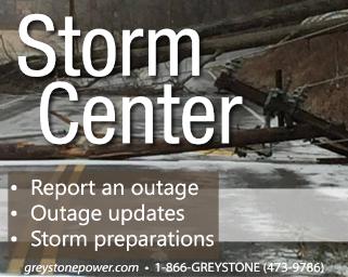 Storm Center button