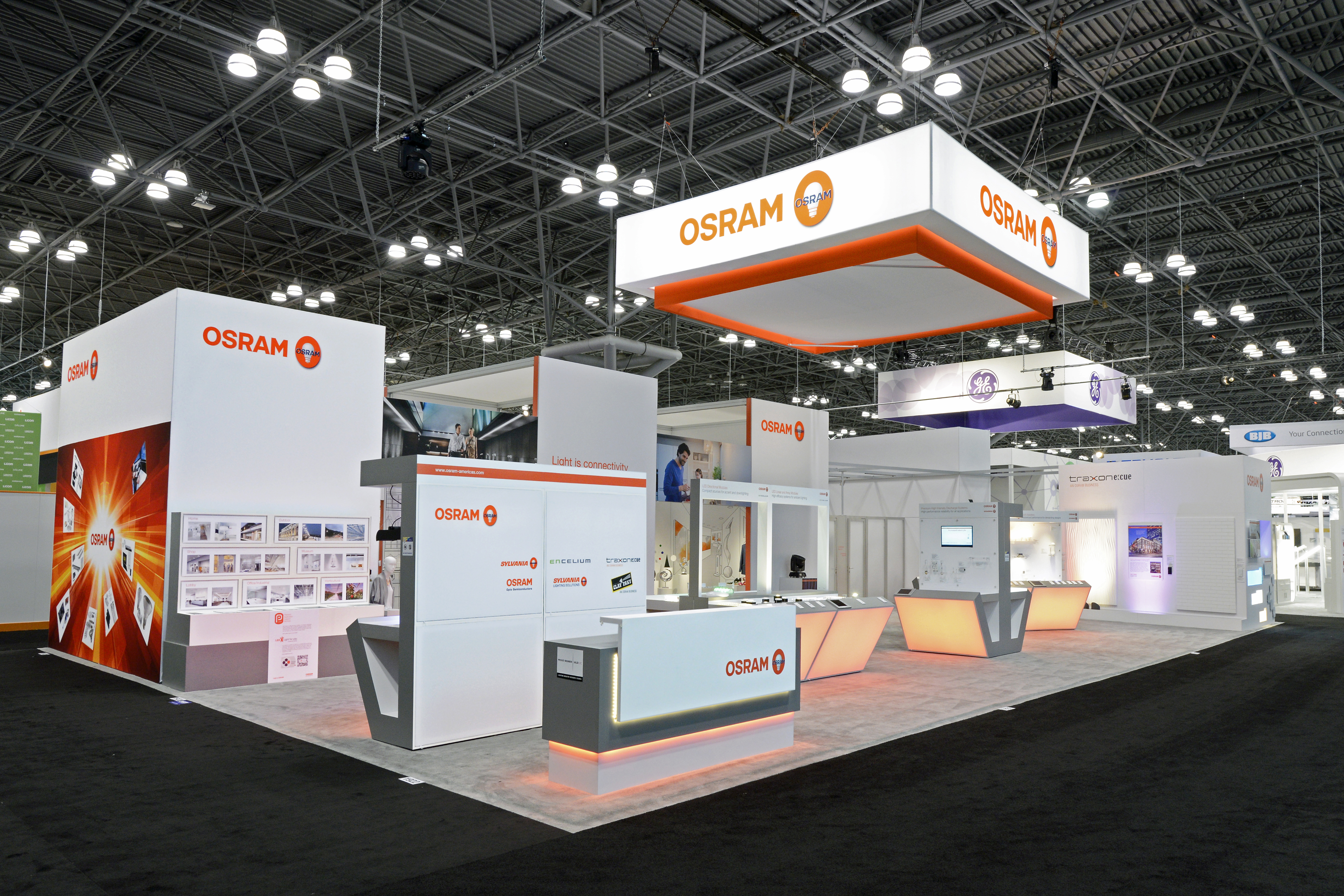 Custom Trade Show Exhibit design and built by Creatacor, Inc. in Clifton Park, NY. Serving the Northeast, Upstate New York, the Albany Capital Region and the entire nation.