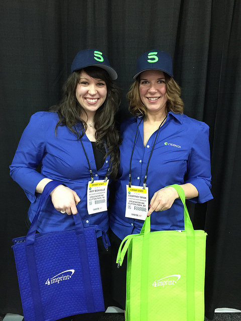 Members of the New York Creatacor team at the EXHIBITORLIVE! Conference in Las Vegas, NV