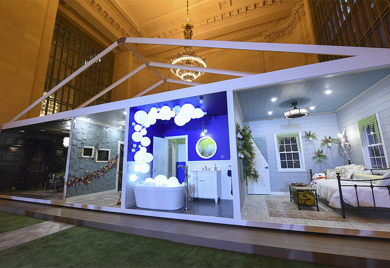 Pop-Up Trend Home inside Grand Central Terminal