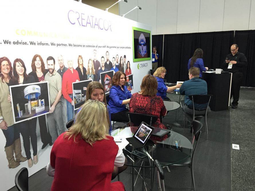 The Creatacor team at the EXHIBITORLIVE! Conference in Las Vegas, NV