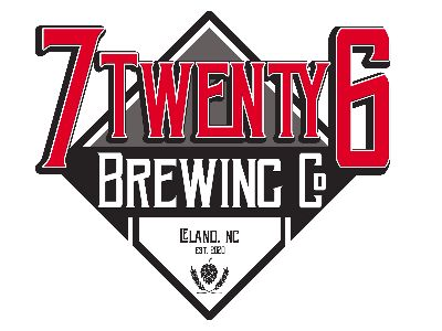 7 Twenty 26 Brewing logo with baseball diamond