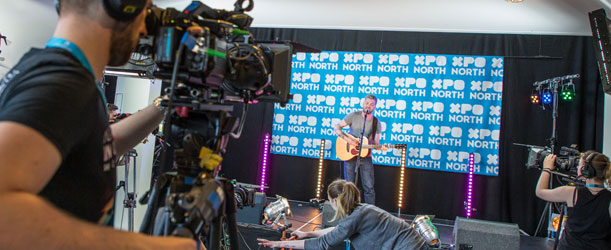 XpoNorth Live! in action. Photo credit: Paul Campbell.