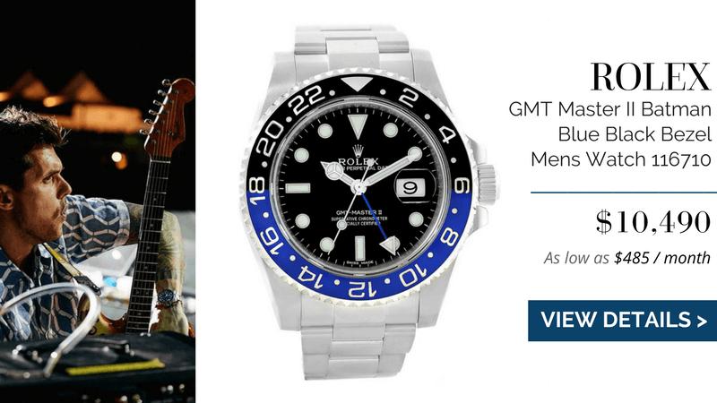 Rolex GMT Master II Batman Blue Black Bezel Mens Watch