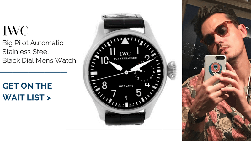 IWC Big Pilot Automatic Stainless Steel Black Dial Mens Watch
