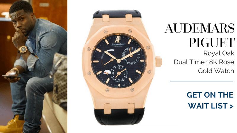 Audemars Piguet Royal Oak Dual Time, kevin hart watch collection