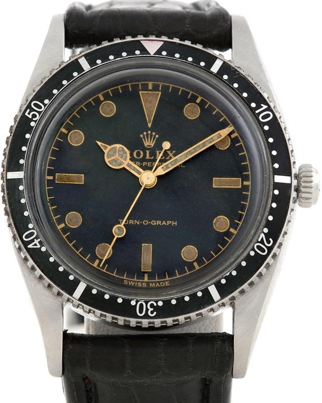 Rolex Vintage Turnograph Steel Watch